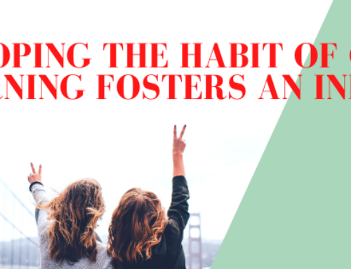 Developing the habit of creative learning fosters an individual.