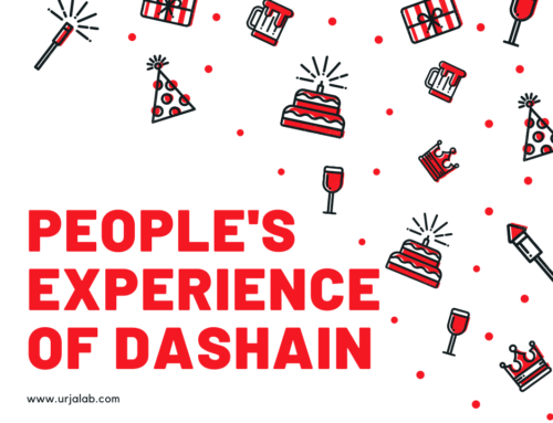 People's experience of Dashain.