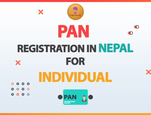 PAN Registration in Nepal for Individuals.