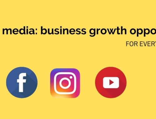 Social media: business growth opportunities.